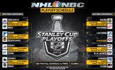 NHL Playoff Schedule