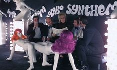 Allen Jones' erotic pop art furniture.