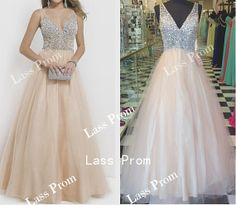 V-neck dress luxurious sequins beads prom dress Sexy Dress Evening Dress Bridesmaid Dress 2014 Hot Selling party dress