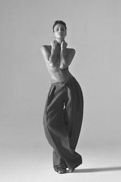 Irina Shayk for Harper's Bazaar China, March 2015 Photographed by: Koray Birand