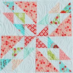 Like this. Wanting to make quilts for my kids.