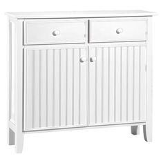 Store your extra dinnerware, flatware, and table linens in a buffet table or sideboard. Shop our great selection of stylish buffet tables and sideboards. Buffets And Sideboards, Sideboard Buffet, Dining Room Art, Coastal Decor, Furniture, White Buffet, Buffet Table, Contemporary Sideboard, Sideboard Designs