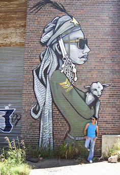 Faith47 - The Lion Sleeps Jozi South Africa 000 street art