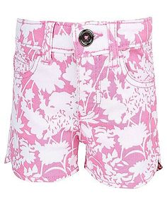 United Colors Of Benetton Floral Print Shorts - Pink http://www.firstcry.com/ucb/united-colors-of-benetton-floral-print-shorts-pink/578372/product-detail