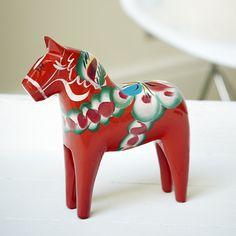 Red Dala Horse | The Swedish Wooden Horse Company