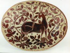 """Ibex"" - Midnight Carved Oval Dish by Miranda Thomas"