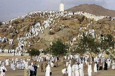 Millions will gather on plains of Arafah 2 beg Allah for forgiveness Nabi SAW said hajj is Arafah