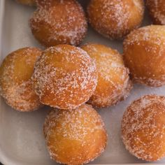 These fried or baked Italian Ricotta Castagnole are made with ricotta cheese which makes them soft and delicious sweet dough balls. Donut Recipes, Pastry Recipes, Cookie Recipes, Dessert Recipes, Recipes Dinner, Quick Dessert, Bread Recipes, Yummy Recipes, Baking Recipes
