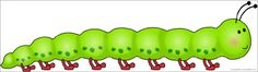 Giant caterpillar picture for display (SB10609) - SparkleBox