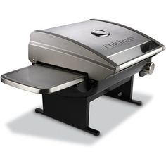 Cuisinart All-Foods Tabletop LP Gas Outdoor Grill with Veggie Panel