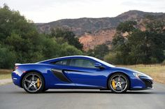 2015 McLaren 650S - right side