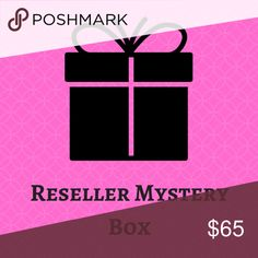 20 Piece Reseller Mystery Box Assorted Sizes 20 Piece Reseller Mystery Box. Need to get rid of some inventory. Assorted sizes. Some brands include, but are not limited to the following:  a.n.a. Ann Taylor Alfani American Eagle Apt. 9 Banana Republic Calvin Klein Charlotte Russe Express Forever 21 Gap H&M INC Lane Bryant LOFT Lush Maurices Merona Mossimo Ralph Lauren Style & Co. Tommy Hilfiger WHBM Xhilaration  There will be some other miscellaneous mall-type brands, as well as the occasional…