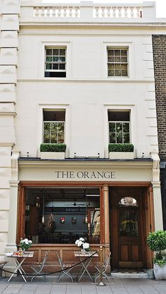 the orange / london //