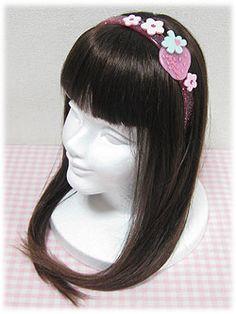 Angelic Pretty » Headwear » Strawberry-chan Headband
