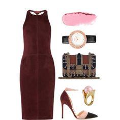 Marsala & Pink