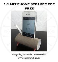 Smart phone speaker for free - https://www.phenomweb.co.uk/smart-phone-speaker-for-free/ - #lifehack #science #technology #essentials #entrepreneur #innovation #digital #values #businessmodel #futurewe #design #business #developer #new #products #web #webdesign #webdev #webdevelopment #WordPress #design #SEO #Google #blogging #programming #mobileapp #mobile #ios #apps #happy