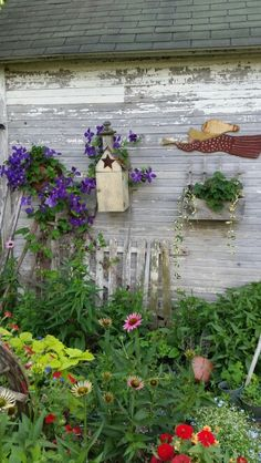 Love this country garden
