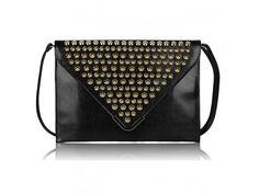 Čierna listová kabelka LSE00205 Bags, Fashion, Handbags, Moda, Fashion Styles, Fashion Illustrations, Bag, Totes, Hand Bags