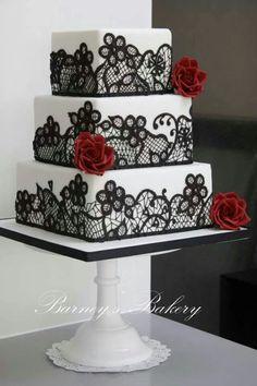 Wedding Cake Barney's Bakery