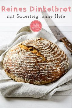 reines-dinkel-sauerteigbrot-ohne-hefe-backen-macht-glucklich/ delivers online tools that help you to stay in control of your personal information and protect your online privacy. Bread Without Yeast, No Yeast Bread, Sugar Bread, Yeast Bread Recipes, Sourdough Bread, No Knead Bread, Bread Baking, Lunch Recipes, Baby Food Recipes