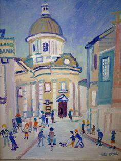 Fred Yates, Penzance Penzance Cornwall, West Cornwall, Cornwall England, St Ives, Original Artwork, Buildings, Paintings, Artists, Illustrations