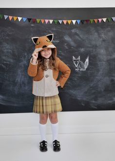 Kids Fantastic Little Fox Coat. $160.00, via Etsy.