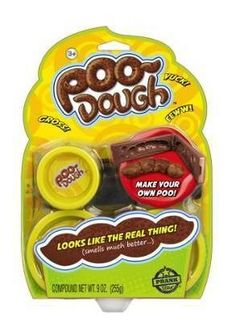 Sky Rocket Prank Star Poo Dough Product DetailsProduct Dimensions: 6 x 9 x inchesItem Weight: ouncesShipping Weight: ouncesItem model number: recommended age: 4 - 15 yearsPrank anyone with this fake poo! Play Doh, Spooky Halloween, Top Pranks, Prank Toys, Snack Recipes, Snacks, C'est Bon, Family Christmas, Christmas 2014