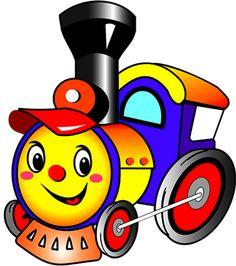 Паровозики и вагончики Drawing For Kids, Art For Kids, Crafts For Kids, Train Cartoon, Art Transportation, Impression Textile, Balloon Shapes, First Birthday Photos, Cute Illustration