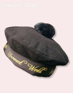 Innocent World ロゴリボンベレー帽