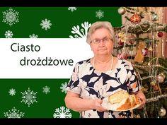Drożdżowe jak puch - babcia uczy jak zrobić ciasto drożdżowe - YouTube Christmas Baking, Button Down Shirt, Youtube, Baking Ideas, Sweets, Projects, Bakken, Log Projects, Dress Shirt
