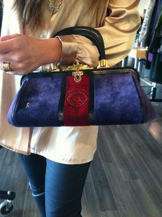 Gorgeous Roberta de Camerino Velvet Bag