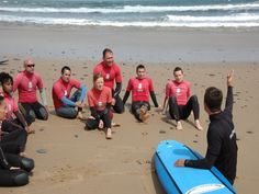Surfing school in Portugal