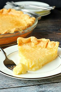 Buttermilk Pie recipe -Buttermilk Pie is an old-fashioned Southern classic. It's the best of the best, crème de la crème, the bee's knees and it's very, very good!