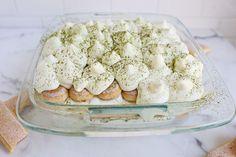 Green tea white chocolate tiramisu by abeautifulmess