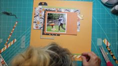 Scrapbook Process Video #13 Halloween After Party for Noel Mignon