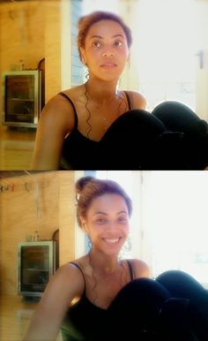 Beyoncé is so naturally pretty...I love the pics this includes...check it out and just click! Beyoncé ❤