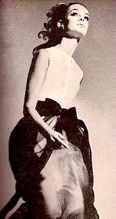Jean Shrimpton photographed by Richard Avedon for Harper's Bazaar, September, 1964.