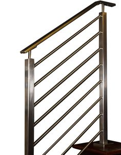 Olympus Horizontal Bar Railing System, Flat Top – AGS Stainless Inc.