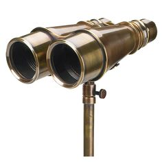 """CaptJimsCargo - Solid Brass Victorian Binoculars w/ Tripod 6.5"""" Antiqued Bronze Finish, (http://www.captjimscargo.com/authentic-models-home-decor/spyglasses-telescopes-binoculars-monoculars/solid-brass-victorian-binoculars-w-tripod-6-5-antiqued-bronze-finish/) This is a decorative but working binocular, focus by adjusting the center focusing knob and diopter adjustment (if needed)."""