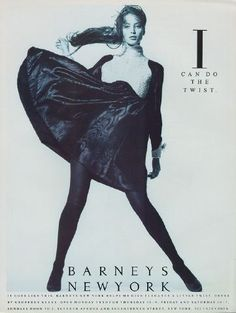 christy for barney's. 1987