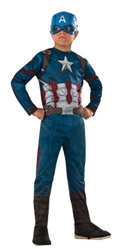 Marvel's Captain America: Civil War - Captain America Costume for Kids by Captain america *** See this great product.(It is Amazon affiliate link) #shoutout