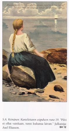 The Life and Art of Sigfried August Keinänen - IIllustrations for the Kalevala Finland Drawing Sketches, Drawings, The Life, Finland, Culture, History, Portrait, Artwork, Photography
