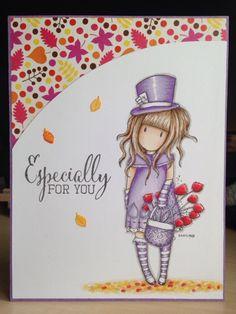 Little Lucy's Handmade Cards: The Hatter in Autumn (Gorjuss)