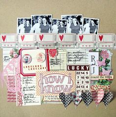 A Project by Fevvers from our Scrapbooking Gallery originally submitted 01/20/11 at 01:28 AM