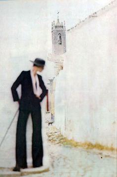 Mouche by Norman Parkinson Vogue UK 1973