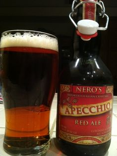 Nero's ... an Italian Craft Ale.  Who knew that you could use Italian and Craft Ale in the same sentence?  And it's one heck of a good Red Ale, too.