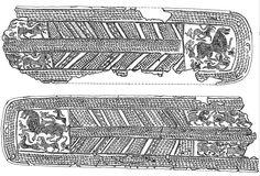 Пояс листовая бронза.с.Еникед 2012г.   прорисовка