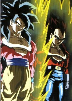 Goku & Vegeta ss4 D'autres figurines de Dragon Ball : http://amzn.to/2kT3swF