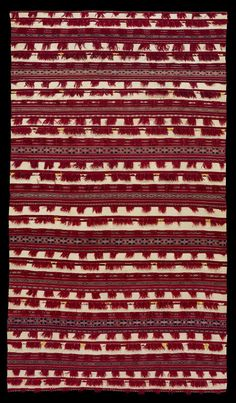 Africa   Woman's Cape from the Zemmour Berber of the Middle Atlas Mountains, Morocco   Wool, cotton, silk   ca. 19th/every early 20th Century