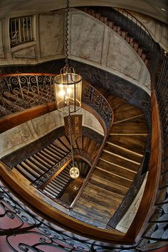 Galérie Vivienne staircase